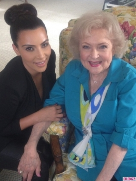 kim-kardashian-betty-white-instagram-121012-435x580