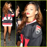 rihanna-hockey-jersey-dress-at-greystone-manor