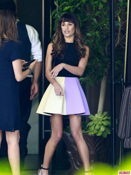 O vestido da Leah