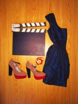 Vestido - Mango, Sapatos - Seaside, Pulseiras - Stradivarius